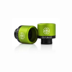 DotMod Friction Fit Drip Tip green